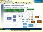 example university of california campus grid