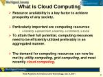 what is cloud computing1