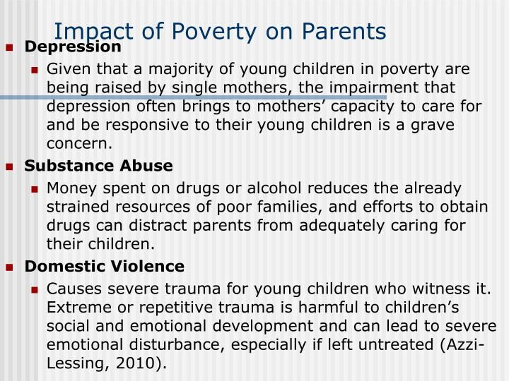 the impact of parental substance abuse upon children essay