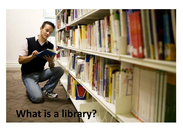 what is a library n.