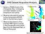hab dataset acquisition analysis