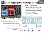 oasis mapping of harmful algal blooms