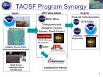 taosf program synergy
