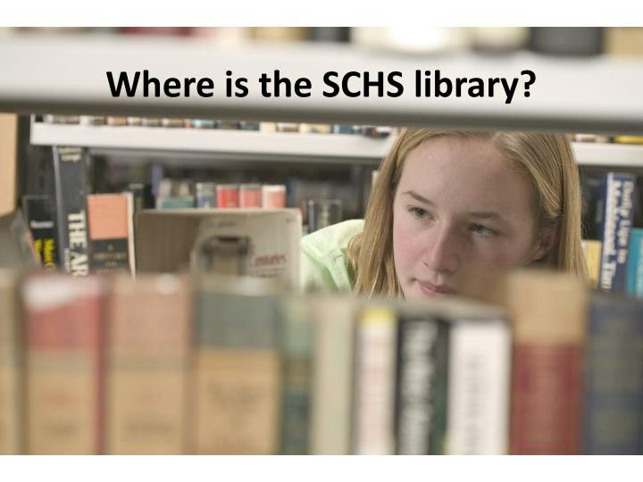 where is the schs library n.