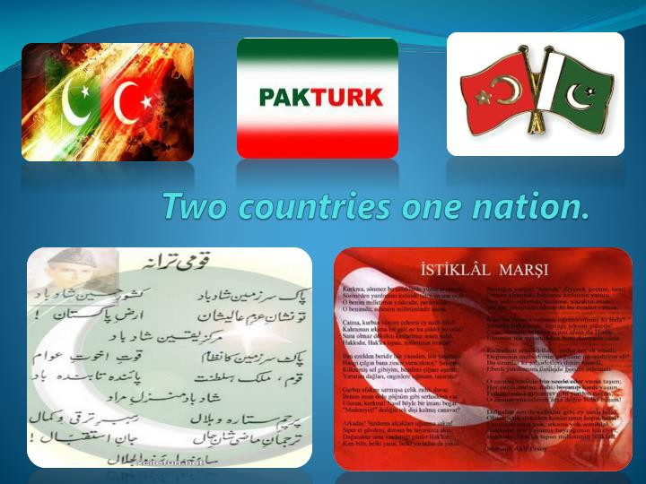 two countries one nation n.