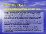 coast objectives