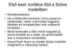 els eset korl tos f ld a solow modellben2