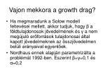 vajon mekkora a growth drag