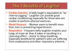the 7 benefits of laughter