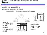 binary attributes computing gini index