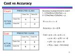 cost vs accuracy