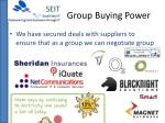 group buying power
