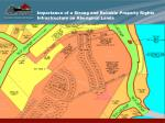 importance of a strong and reliable property rights infrastructure on aboriginal lands14