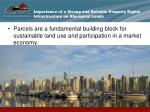 importance of a strong and reliable property rights infrastructure on aboriginal lands2