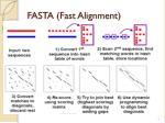 fasta fast alignment