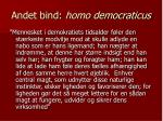 andet bind homo democraticus2