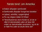 f rste bind om amerika1