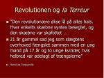revolutionen og la terreur