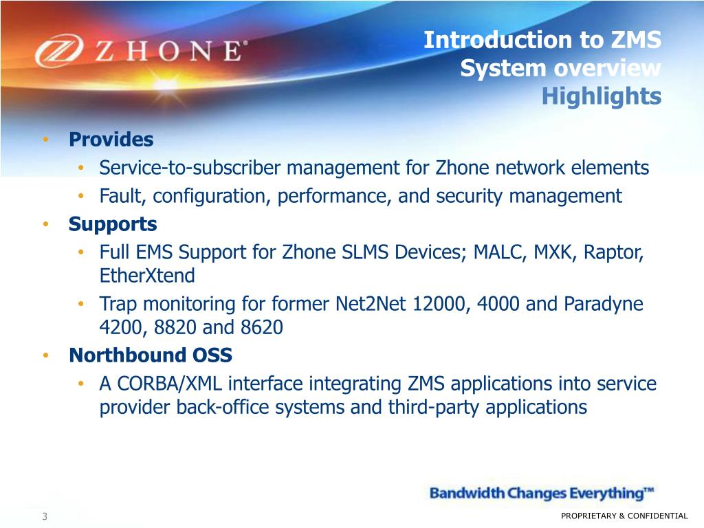 PPT - ZMS training Module 1 Introduction to the ZMS