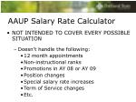 aaup salary rate calculator1