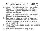 adquirir informaci n d132