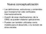nueva conceptualizaci n