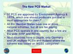 the new pcs market
