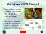 why not have a weee directive