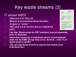 key waste streams 2