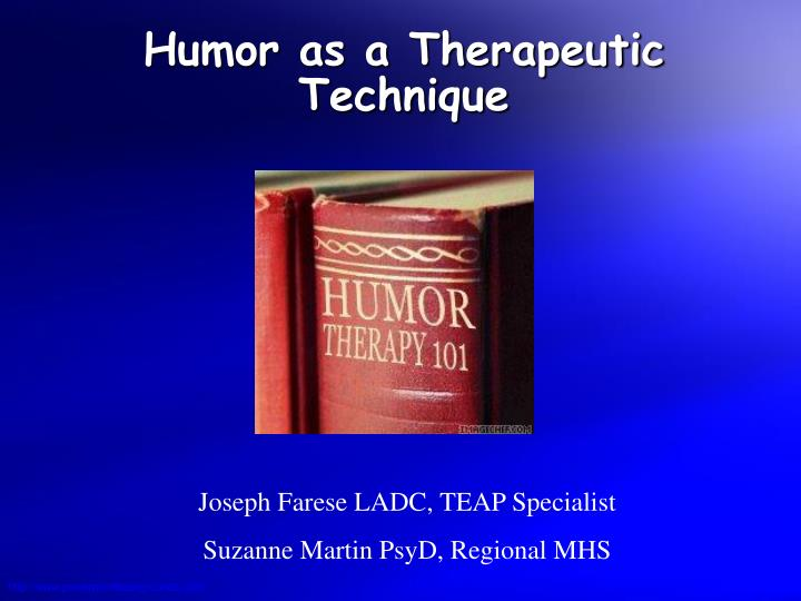 humor as a therapeutic technique n.