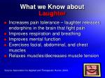 what we know about laughter