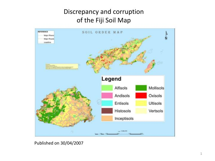 Discrepancy and corruption