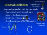 feedback inhibition1