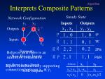 interprets composite patterns