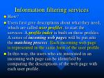 information filtering services1