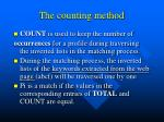 the counting method1