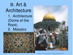 b art architecture