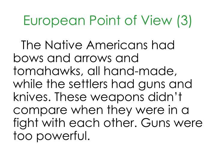 European Point of View (3)