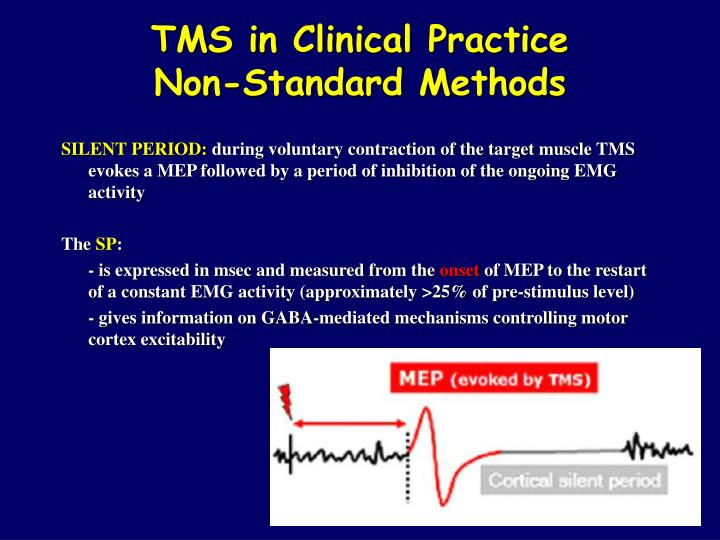 tms in clinical practice non standard methods n.