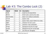 lab 3 the combo lock 2