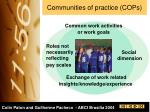 communities of practice cops