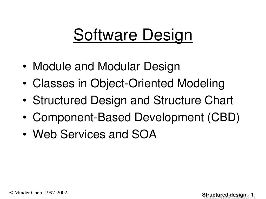 Ppt Software Design Powerpoint Presentation Free Download Id 3922207