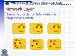sensor protocols for information via negotiation spin