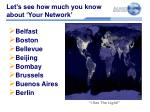 let s see how much you know about your network