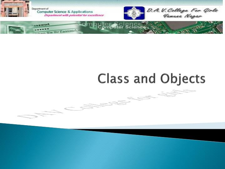 class and objects n.