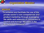 organization mission