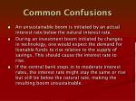 common confusions