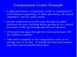 computation center example