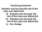 practicing grammar5