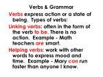 verbs grammar